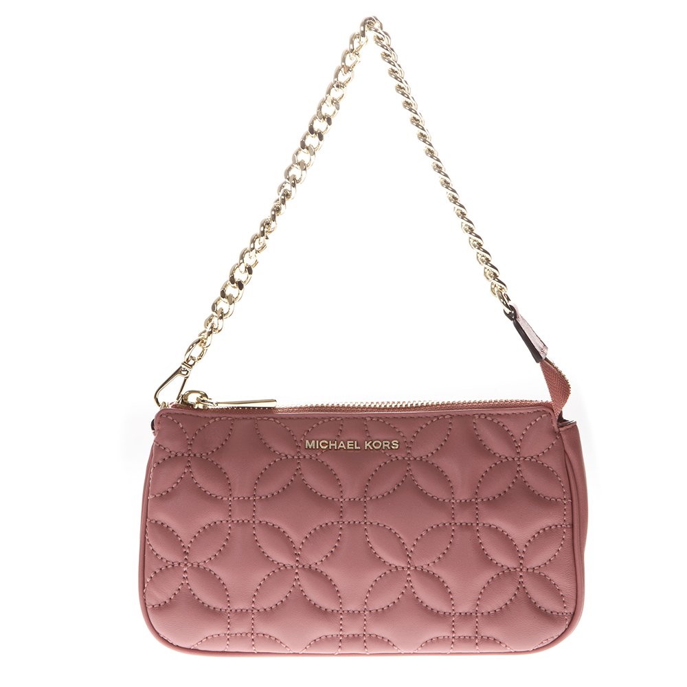 6f2c977415 MINI BAG IN QUILTED ROSE LEATHER SS 2019 - MICHAEL MICHAEL KORS - Boutique  Galiano
