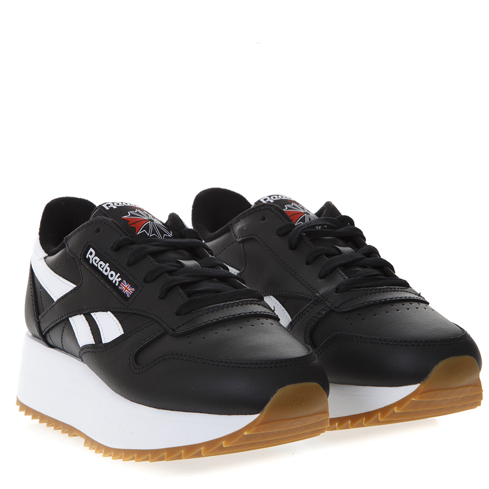 c312452b084 BLACK LACE UP PLATFORM SNEAKERS IN FAUX LEATHER SS 2019 - REEBOK ...