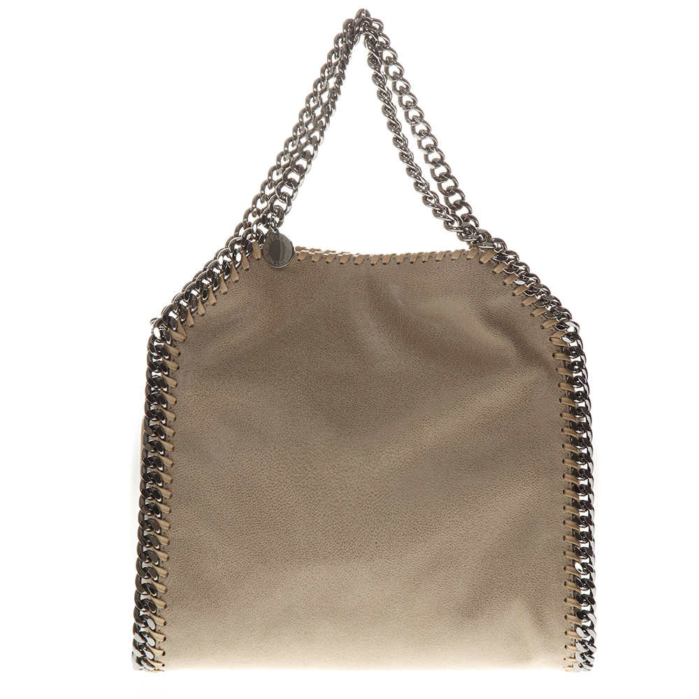 FALABELLA CREAM FAUX-LEATHER MINI TOTE SS 2019 - STELLA McCARTNEY -  Boutique Galiano 87605a74f17bb
