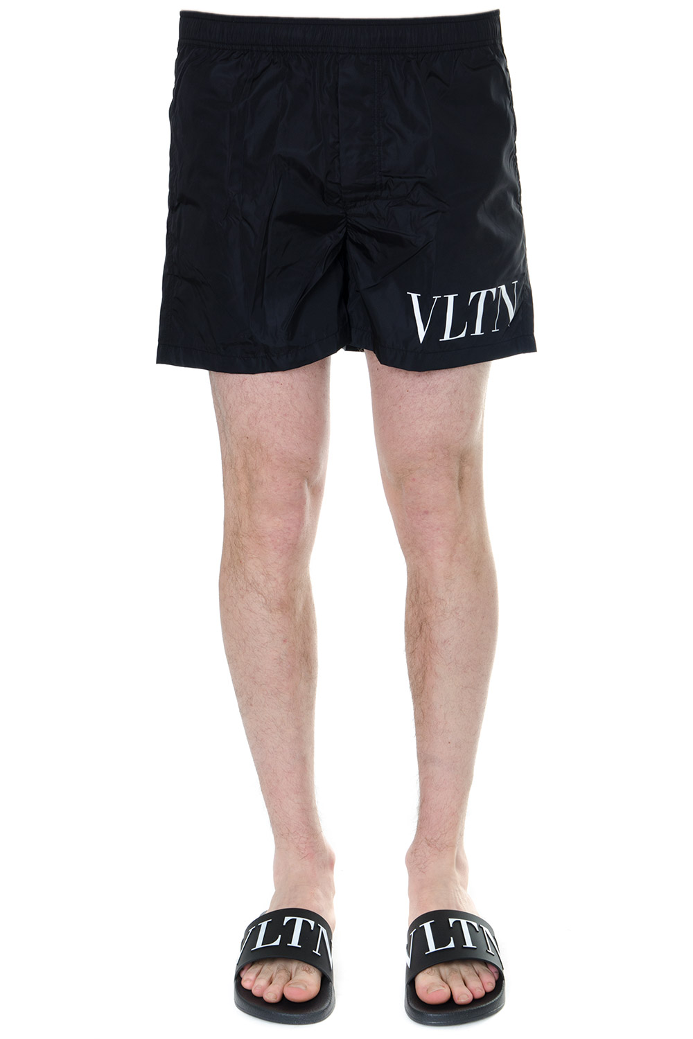 2ad316d51de24 VLTN BLACK SWIM SHORTS SS 2019 - VALENTINO - Boutique Galiano