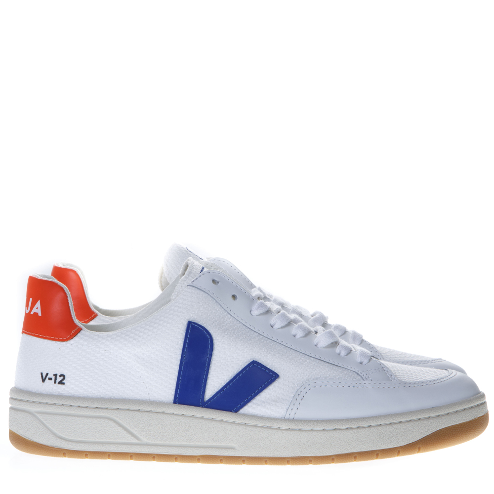save off 54390 d91fa WHITE LOW-TOP SNEAKERS WITH VEJA LOGO SS19