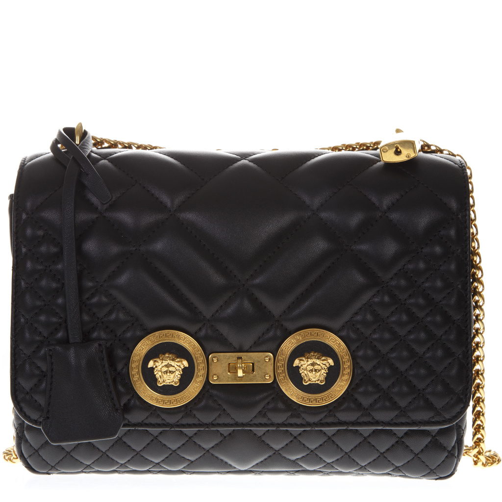 fb79dd24e20c ICON MEDUSA QUILTED NAPPA BAG SS19 - VERSACE - Boutique Galiano