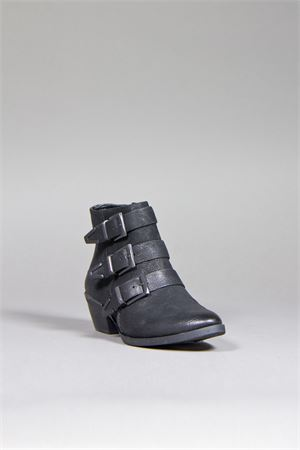 ANKLE BOOTS WITH STRAPS DETAIL VINCE CAMUTO | 52 | TIPPER BLACK