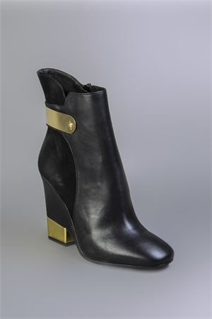 SUEDE AND LEATHER ANKLE BOOTS FW 2014/2014 MARC ELLIS | 52 | 950716NERO