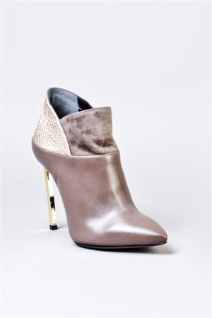 LEATHER ANKLE BOOTS FW 2014/2015 MARC ELLIS | 52 | 980626TAUPETO