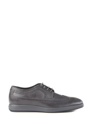 BRUSHED LEATHER LACE-UP SHOES FW 2015/2016 HOGAN | 208 | HXM2090L0808A1B611