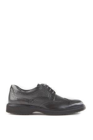 STRINGATE ROUTE IN PELLE BROGUE AI 2015/2016 HOGAN | 208 | HXM2170Q4419KXB612