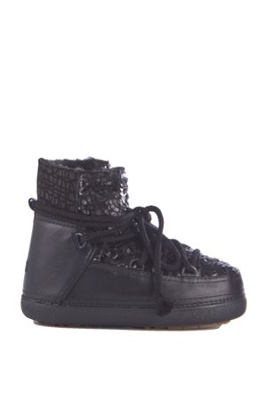 LEATHER & FABRIC BOOTS FW 2015/2016 IKKII | 52 | 17705PUNC SEGUINBLACK