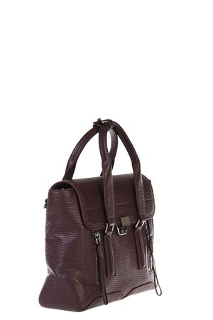 BORSA PASHLI MEDIA IN PELLE ai 2016 3.1 PHILLIP LIM | 2 | AP16-0179PASHLI MEDIUMBLKCHERRY