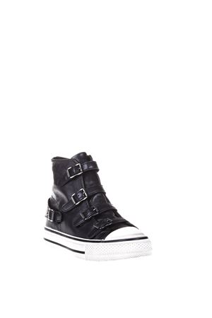 HIGH-TOP LEATHER SNEAKERS FW 2016 ASH | 55 | VIRGINNAPPABLACK
