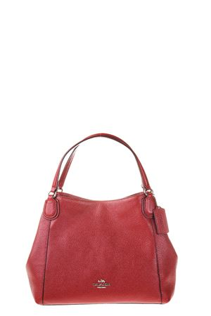BORSA IN PELLE AI 2016 COACH | 2 | 35983UNISV/RED CURRANT