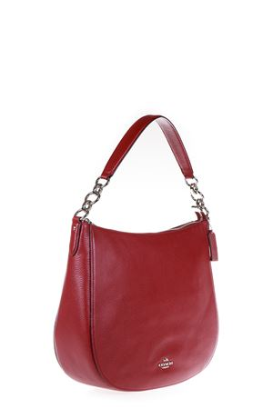 BORSA A SPALLA IN PELLE AI 2016 COACH | 2 | 58036UNISV/RED CURRANT