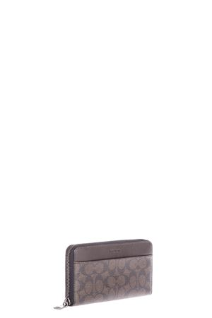 LEATHER & FABRIC WALLET FW 2016 COACH | 34 | 74936UNIMAHOGANY