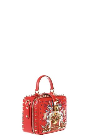 EMBELLISHED LEATHER DOLCE SOFT BAG FW 2016 DOLCE & GABBANA | 2 | BB5953AE40780303