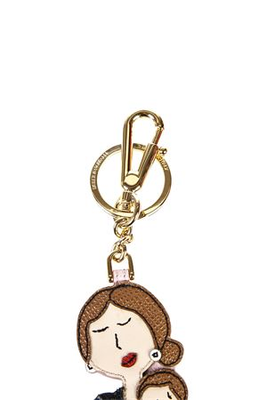 DG FAMILY LEATHER KEY RING FW 2016 DOLCE & GABBANA | 5 | BI0910AB50380997
