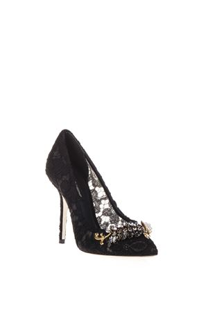 100MM BELLUCCI EMBELLISHED LACE PUMPS FW 2016 DOLCE & GABBANA | 68 | CD0007AE25080999