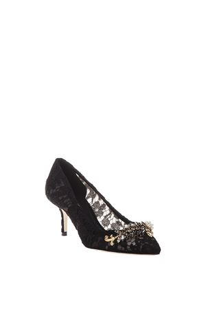 BELLUCCI EMBELLISHED LACE PUMPS FW 2016 DOLCE & GABBANA | 68 | CD0459AD53480999