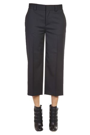 VIRGIN WOOL CROPPED CULOTTES FW 2016 DSQUARED2 | 8 | S72KA0656S42916900