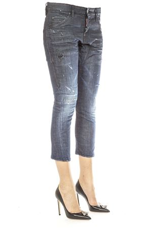 JEANS  IN DENIM DI COTONE AI 2016 DSQUARED2 | 4 | S75LA0783S30342470