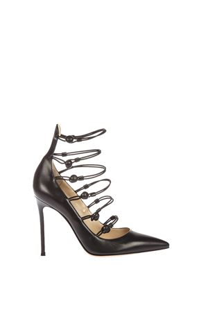 100MM MARQUIS LEATHER PUMPS FW 2016 GIANVITO ROSSI | 68 | G2001215RICNERO
