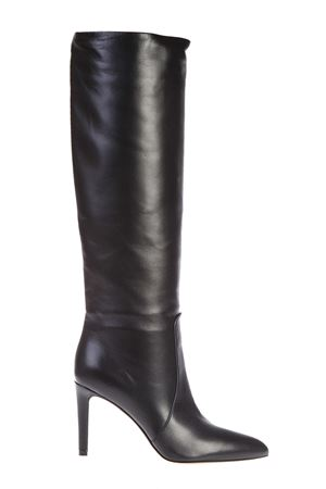 DANA LEATHER KNEE-HIGH BOOTS FW 2016 GIANVITO ROSSI | 52 | G8013585RICNERO
