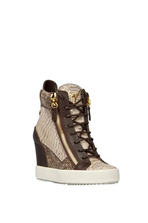 SNAKE PRINT HIGH TOP-SNEAKERS FW 2016 2017 GIUSEPPE ZANOTTI | 55 | RW6028LOGOBALL001