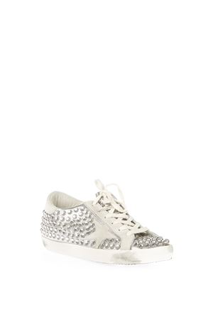 SUPER STAR EMBELLISHED LEATHER SNEAKERS FW 2016 GOLDEN GOOSE DELUXE BRAND | 55 | G29WS5901F24