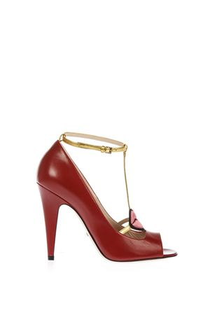 MOLINA LIPS LEATHER PUMPS FW 2016 GUCCI | 87 | 431027CQXH06479