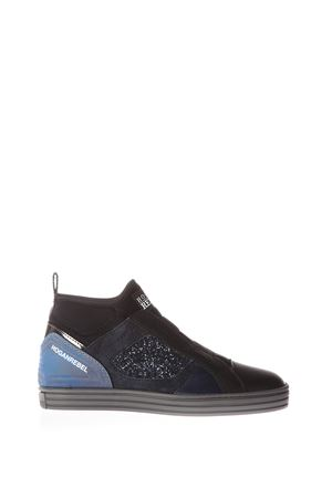 SUEDE & LEATHER SNEAKERS fw 2016 HOGAN REBEL | 55 | HXW1820V990ELJ356P