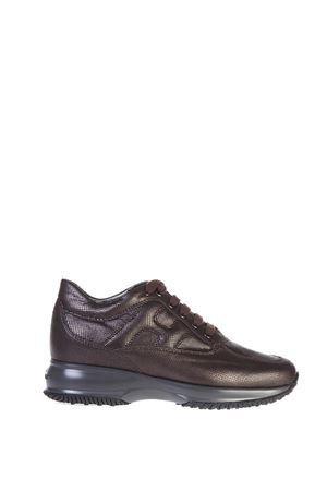 INTERACTIVE PRINTED LEATHER SNEAKERS fw 2016 HOGAN | 55 | HXW00N00010DVAR815