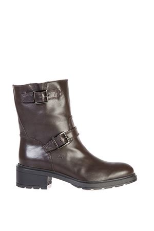ROCK GH083 LEATHER BOOTS FW 2016 HOGAN | 52 | HXW0830L94208NS800