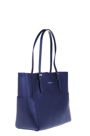 LARGE ADELE SAFFIANO LEATHER TOTE FW 2016 LANCASTER | 2 | 421-56-BLEU-FONCE1005