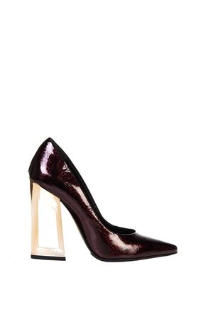 DESIGN HEEL SUEDE PUMPS FW 2016 MARC ELLIS | 68 | 6048CRASHSANGRIA