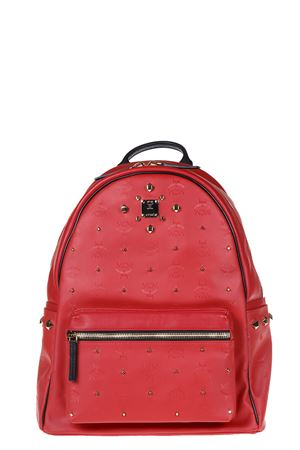 STARK ODEON EMBOSSED LEATHER BACKPACK FW 2016 MCM | 183 | MMK6AVH43RU00111