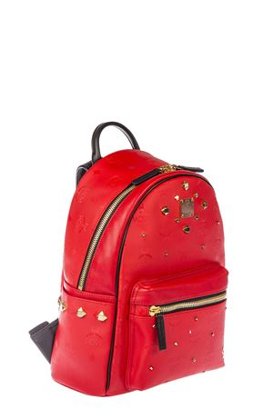 STARK ODEON EMBOSSED LEATHER BACKPACK FW 2016 MCM | 183 | MMK6AVH44RU00111