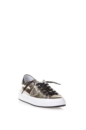 LAKERS MIRROR EFFECT LEATHER SNEAKERS FW 2016 PHILIPPE MODEL | 55 | CKLDCLASSIC LAKERS LOWML30