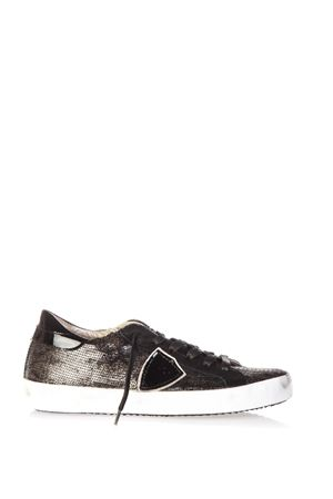 SEQUINS COVERED LEATHER SNEAKERS FW 2016 PHILIPPE MODEL | 55 | CLLDCLASSIC LOWLP45