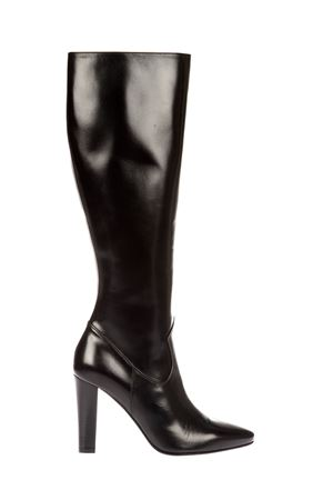 LILY 95 LEATHER KNEE-HIGH BOOTS FW 2016 SAINT LAURENT | 52 | 440877AKP001000