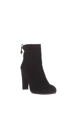 110MM SUEDE ANKLE BOOTS FW 2016 STUART WEITZMAN | 52 | UL39731MITTENBLACK