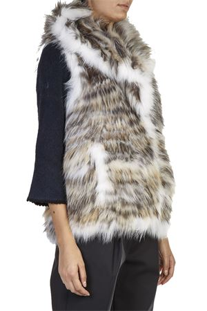 SLEEVELESS FOX FUR FW 2016 METEO BY YVES SALOMON | 80 | 7WMG51963KFF1UNIA0552