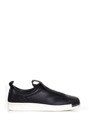 SUPERSTAR LEATHER SLIP-ON SNEAKERS FW 2017 ADIDAS ORIGINALS | 55 | BY9140SUPERSTAR BW35CORE BLACK
