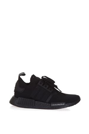 NMD_R1 PRIMEKNIT SHOES FW 2017 ADIDAS ORIGINALS | 55 | BZ0220NMD R1CORE BLACK