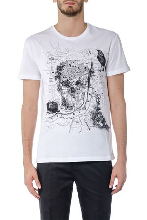 T-SHIRT IN COTONE STAMPA SKULL AI 2017 ALEXANDER McQUEEN | 15 | 463984QJZ590900