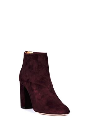 SUEDE DOWNTOWN ANKLE BOOTS FW 2017 AQUAZZURA | 52 | DWTMIDB0SUE42D