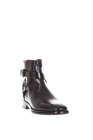 LEATHER BUCKLED ANKLE BOOTS FW 2017 DOLCE & GABBANA | 52 | A60102AI37380999
