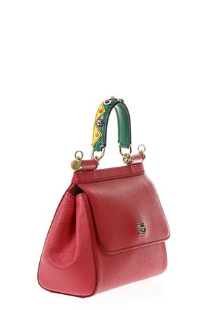 MISS SICILY EMBELLISHED HANDLE LEATHER BAG FW 2017 DOLCE & GABBANA | 2 | BB6003AI35289417