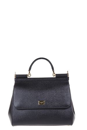 MISS SICILY DAUPHINE LEATHER BAG FW 2017 DOLCE & GABBANA | 2 | BB6235A100180999