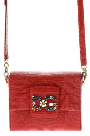 MILLENNIALS LEATHER BOX BAG fw 2017 DOLCE & GABBANA | 2 | BB6391A109580314