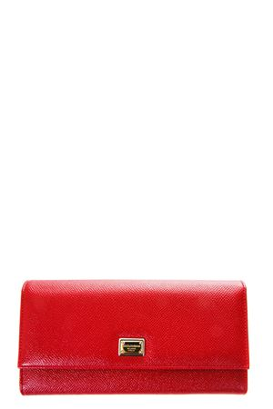 DAUPHINE LEATHER WALLET FW 2017 DOLCE & GABBANA | 34 | BI0087A100180303