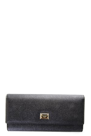 DAUPHINE LEATHER WALLET fw 2017 DOLCE & GABBANA | 34 | BI0087A100180999